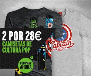 2 Camisetas por 28€