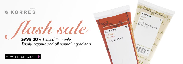 Save 20% on Korres