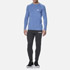 Myprotein Men's Performance Long Sleeve Top - Blue Marl: Image 1