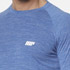 Myprotein Men's Performance Long Sleeve Top - Blue Marl: Image 5