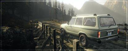Car Crossing Bridge
