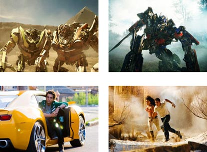 Montage Of Transformers