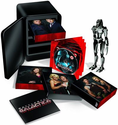 Battlestar Galactica Exploded Packshot