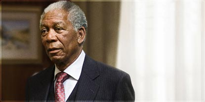 Morgan Freeman As Nelson Mandela