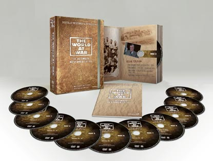 The World At War Box Set With Eleven Discs