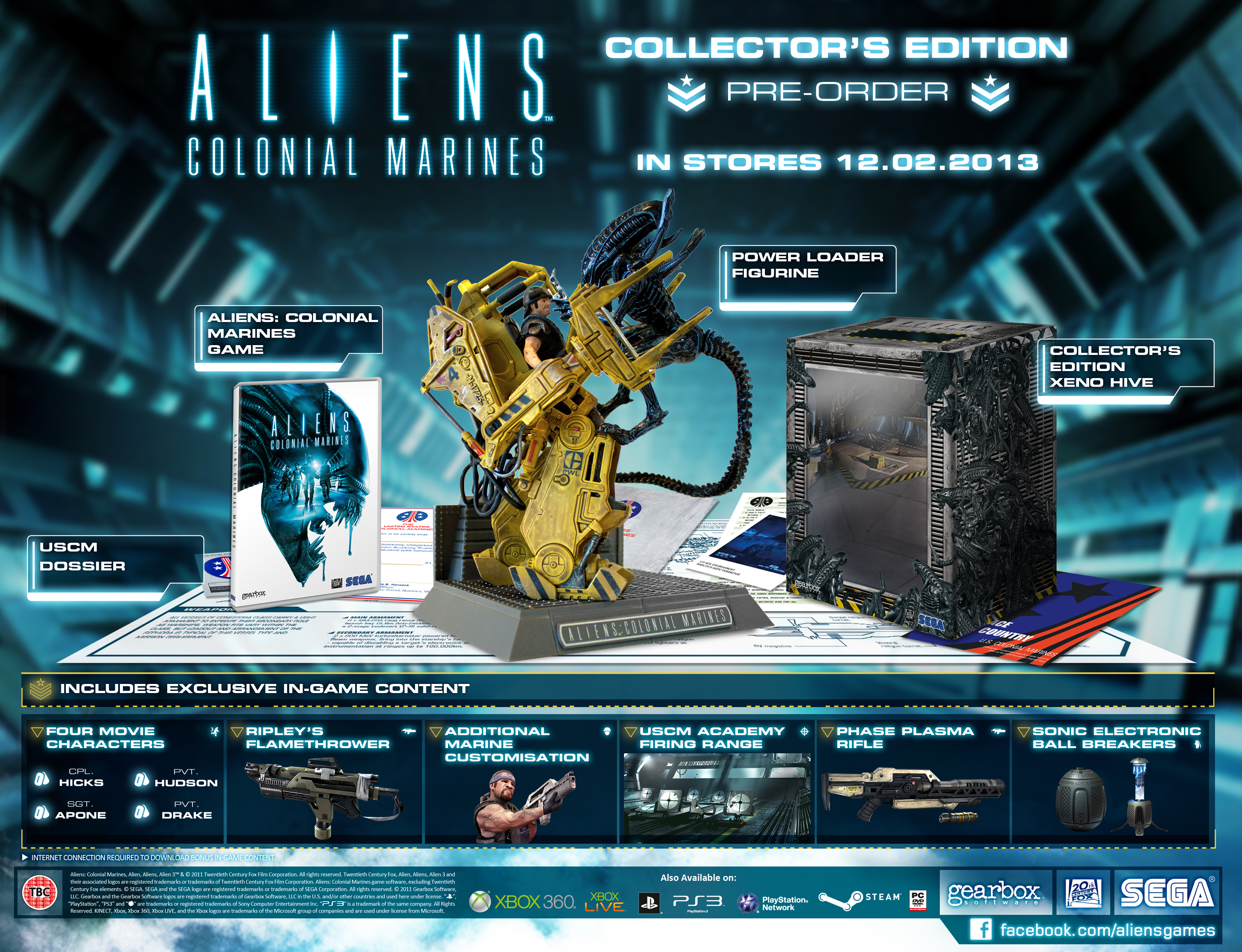 Aliens colonial marines collector s edition ps3 zavvi es