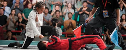 Dre Parker In A Fighting Tournament Against Cheng