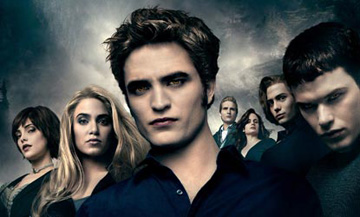 Vampire Edward Cullen With His Family