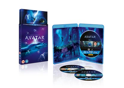 Avatar Collectors Edition With Three Discs