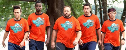 Rob Hilliard, Kurt McKenzie, Eric Lamonsoff, Lenny Feder And Marcus Higgins Walking Together In Matching Tops