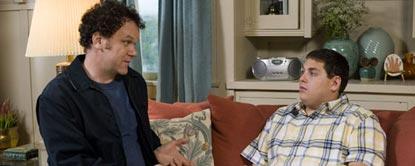 John Sat On The Sofa Talking To Cyrus