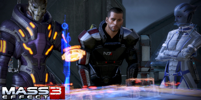 Shepard stood around a table with three other people