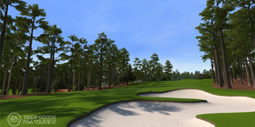 An image displaying the neat scenery in PGA Tour '12