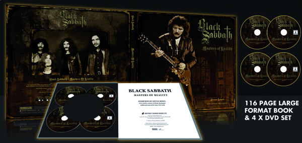 black sabbath black sabbath black sabbath masters of reality 4dvd plus book cd. Black Bedroom Furniture Sets. Home Design Ideas