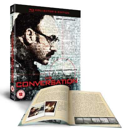 The Conversation Front Cover With Booklet