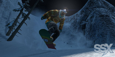 SSX game-play