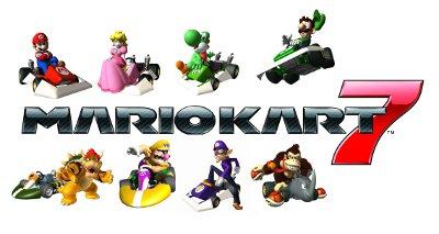 Mario Kart 7 3D Nintendo 3DS Zavvicom