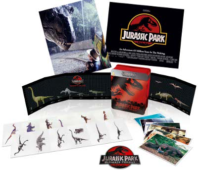 Jurassic Park Limited Edition With Six Discs And Picture Cards