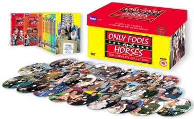 Only Fools And Horses Complete Collection Box With All Twenty Six Discs