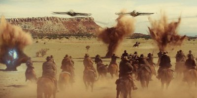 Cowboys Fighting Aliens