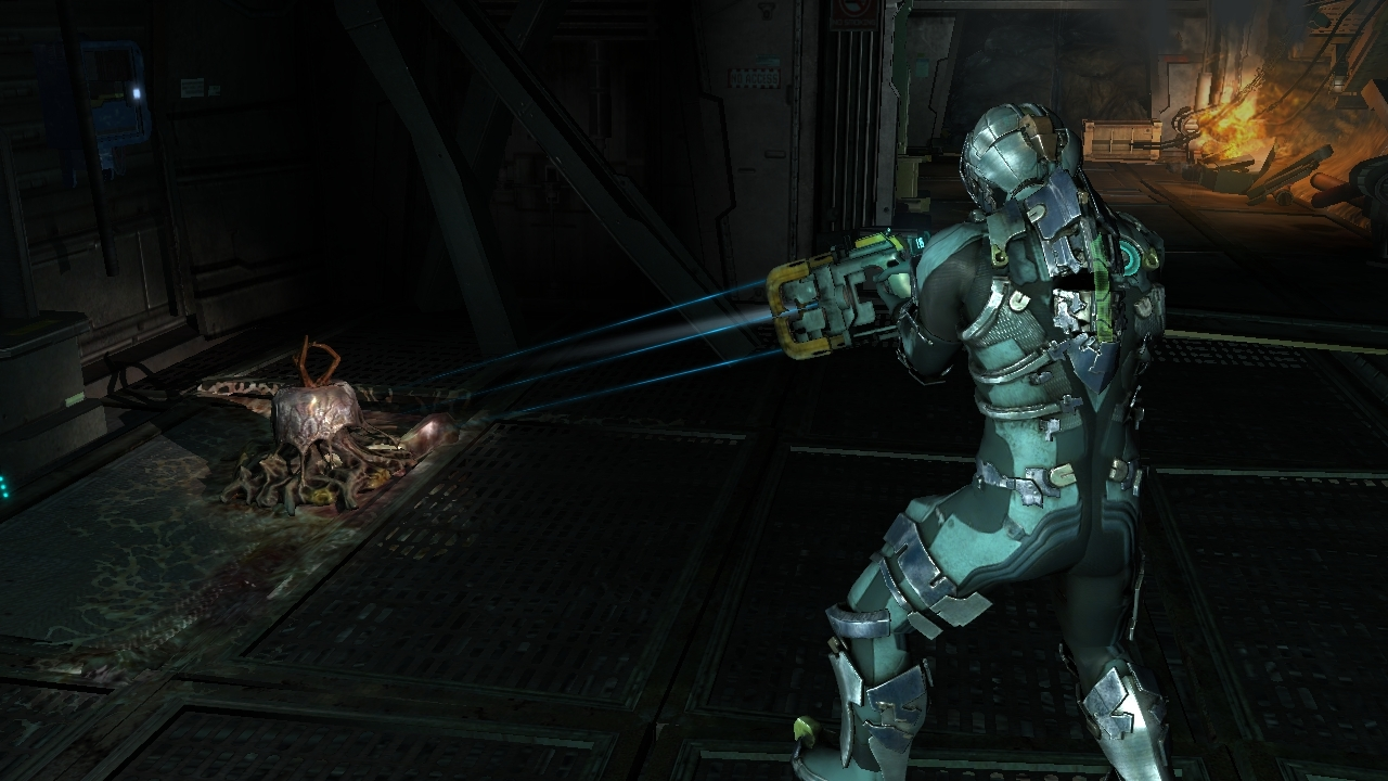 dead space how to jump in zero g ps3