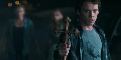 Charley Holding Cross