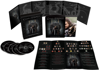 Game of Thrones Exploded Packshot