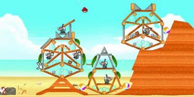 Angry Birds Game Play