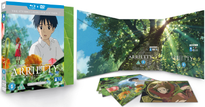 Arrietty Deluxe Collector's Edition With Two Discs And Five Postcards
