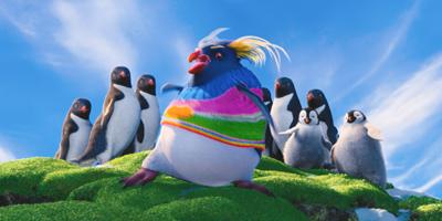 Rock Hopper Penguin Dancing