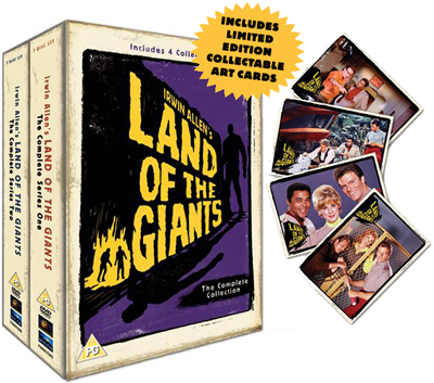 Land of the Giants Exploding Packshot
