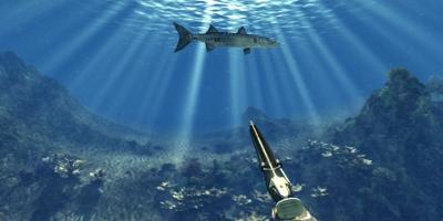 shooting a fish