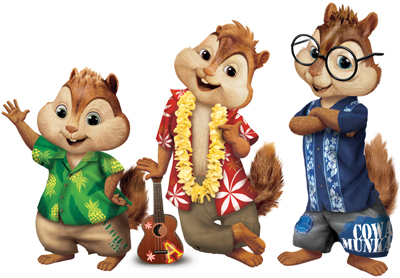 Alvin, Simon and Theodore