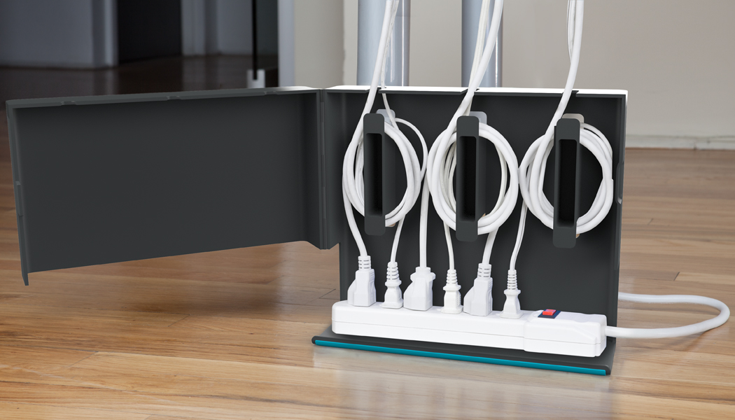 quirky plug hub power cable organizer homeware. Black Bedroom Furniture Sets. Home Design Ideas
