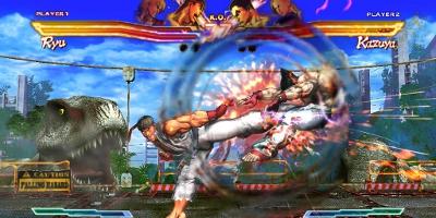 Ryu kicking