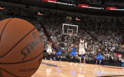 NBA Live 2013 screenshot #1