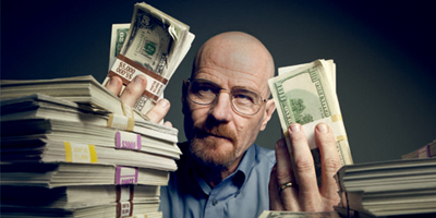 Walter Holding Money