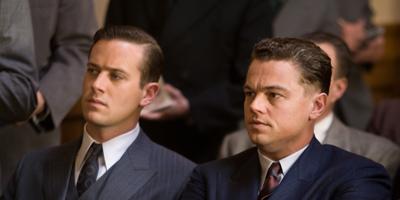 Still of Leonardo DiCaprio and Brady Matthews