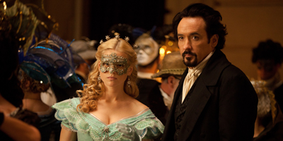 John Cusack and Alice Eve at the Masquerade Ball