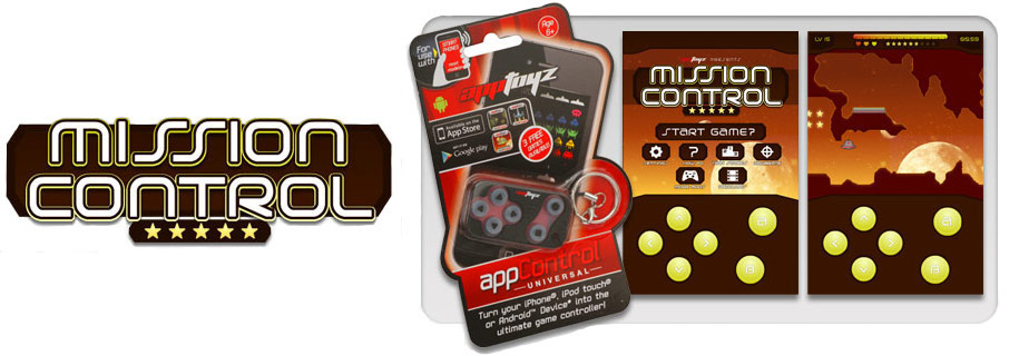 AppToyz AppArcade Controller Mission Control Game