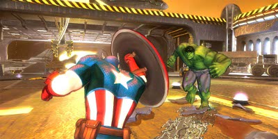 Cpt America and Hulk