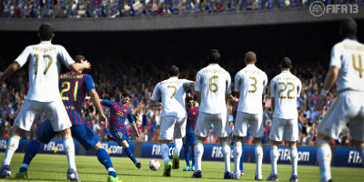 Messi Freekick