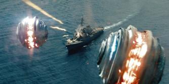 Battleship Under Attack