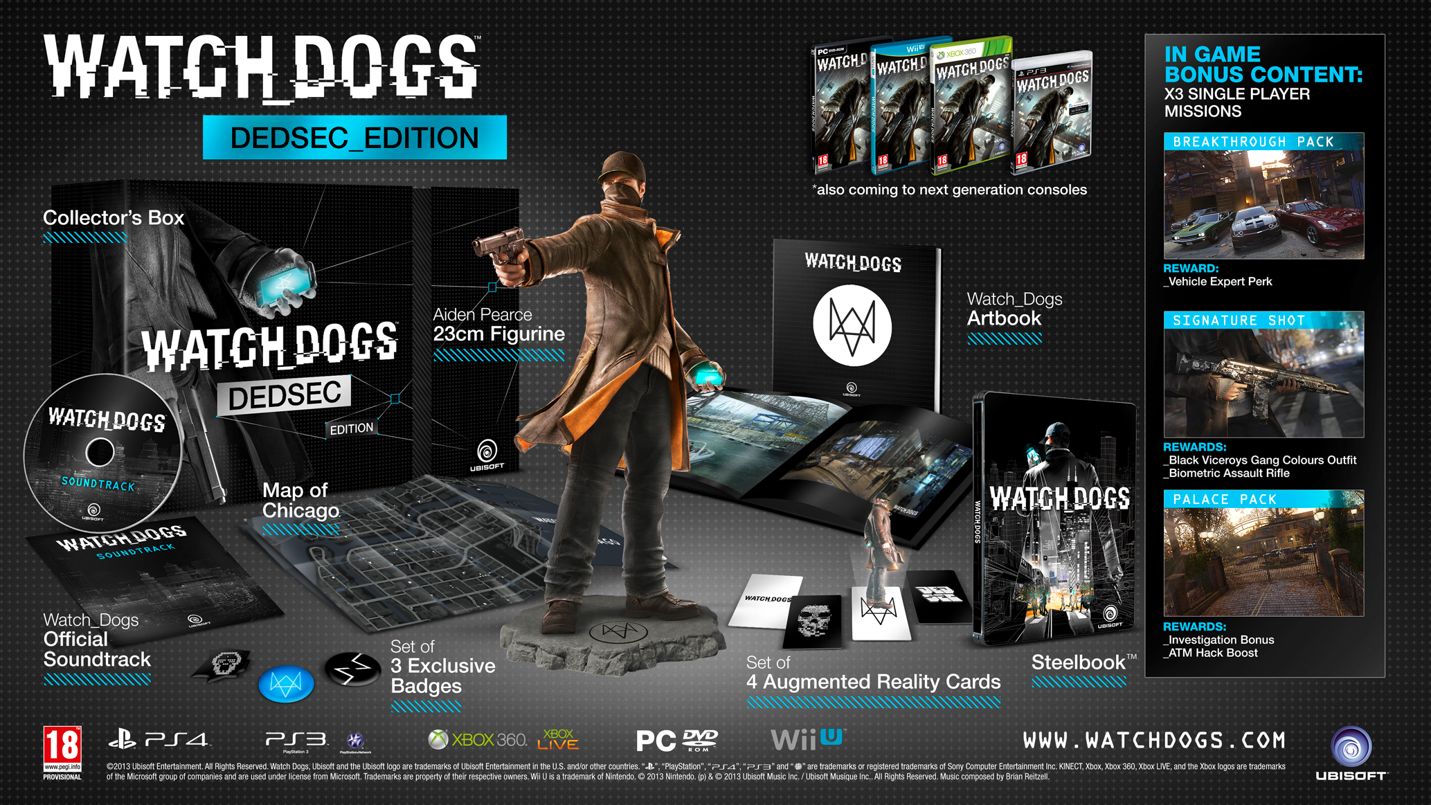 Watch Dogs: Dedsec Edition PC