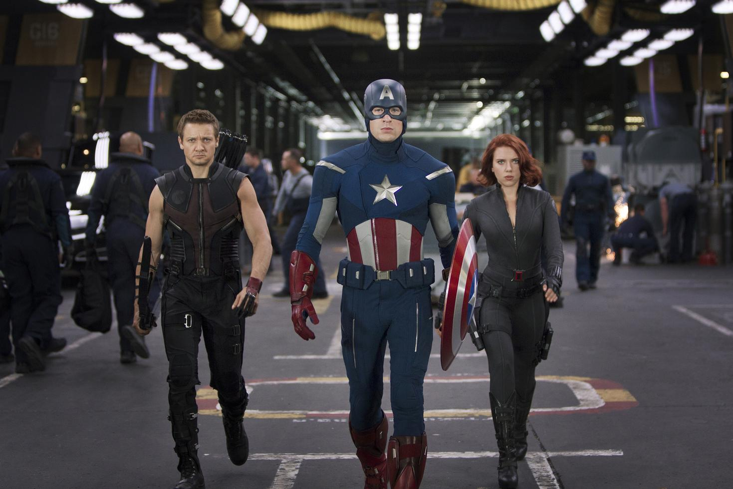 Hawkeye/Cpt America/ Black Widow