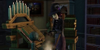 Sims Witch