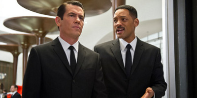 Will Smith & Josh Brolin in MIB 3