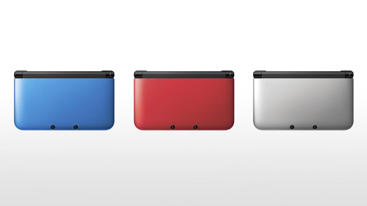 nintendo 3ds xl console blue and black games consoles. Black Bedroom Furniture Sets. Home Design Ideas