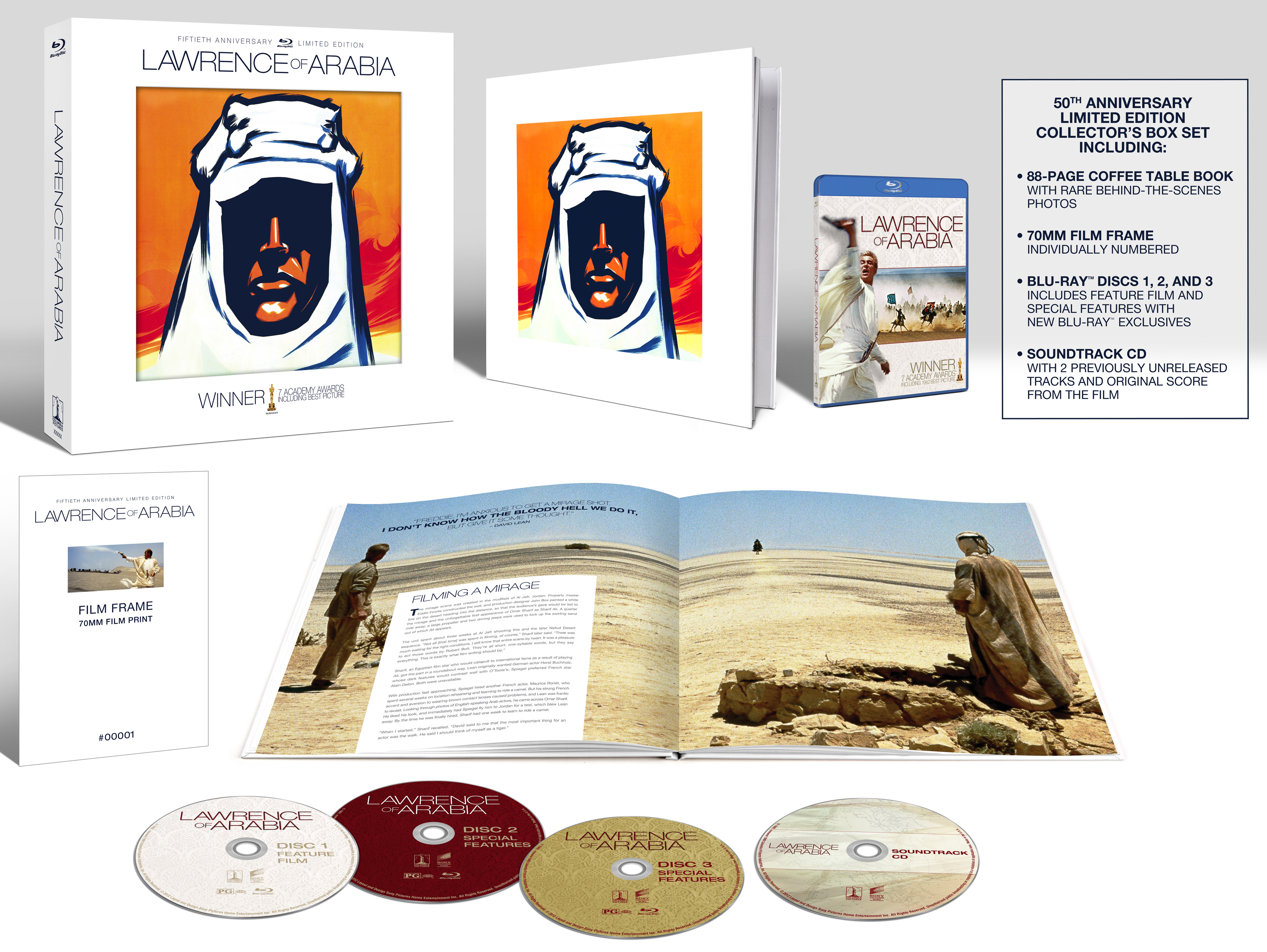 Lawrence Of Arabia 50th Anniversary Limited Collectors