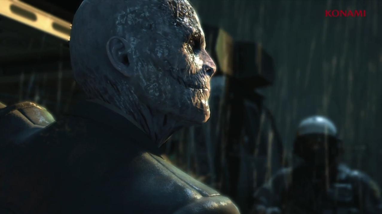 Scar faced man